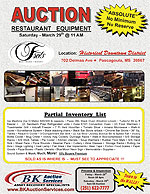 Frets Restaurant Equipment